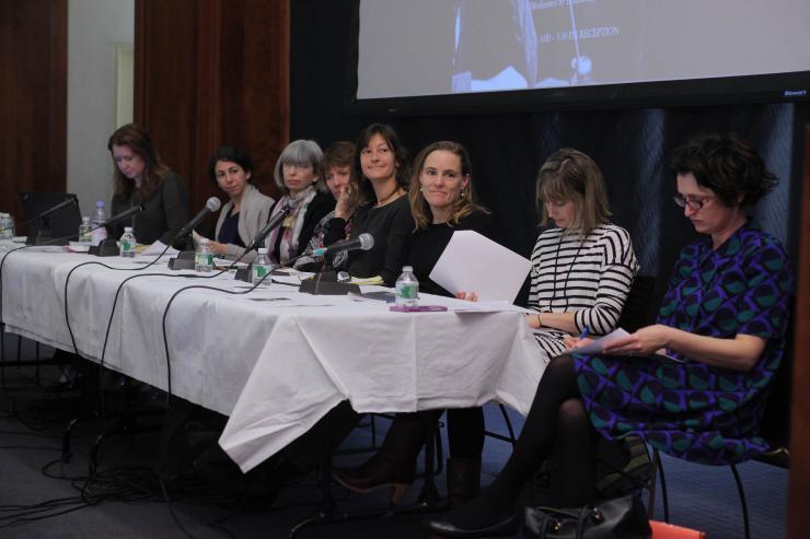 women in a panel