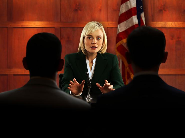 actress playing a politician