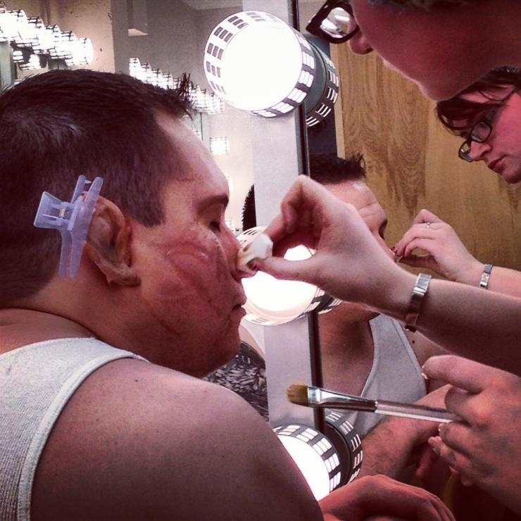 actor in gore makeup