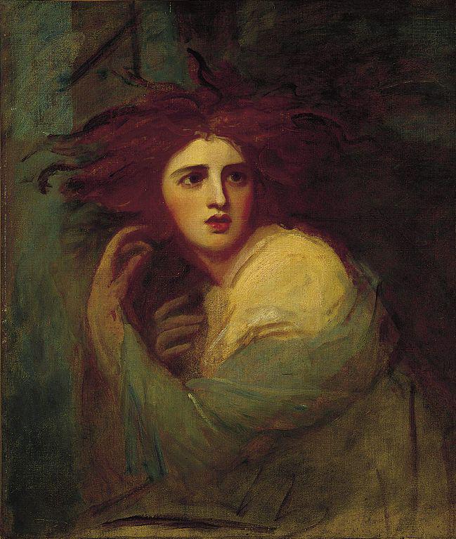 a vintage portrait/painting'