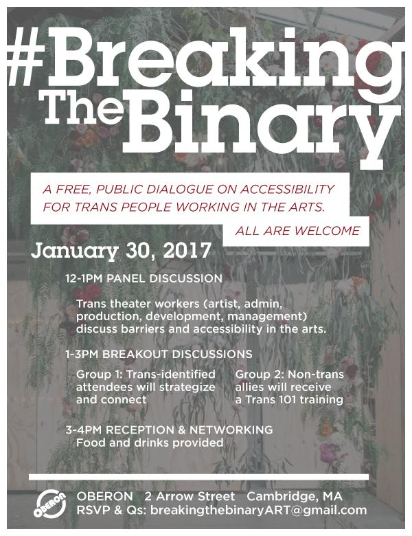 breaking the binary poster
