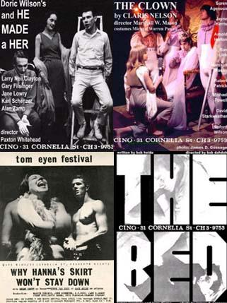 Play poster collage