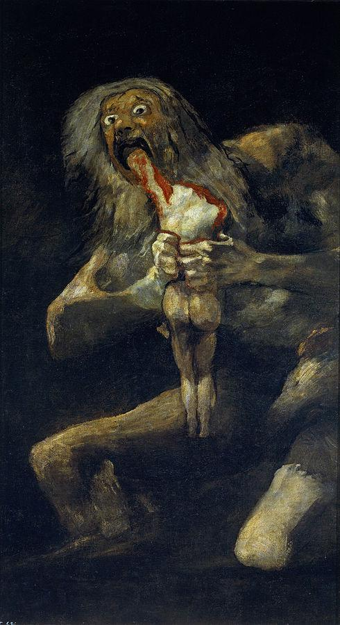 painting of a cannibal