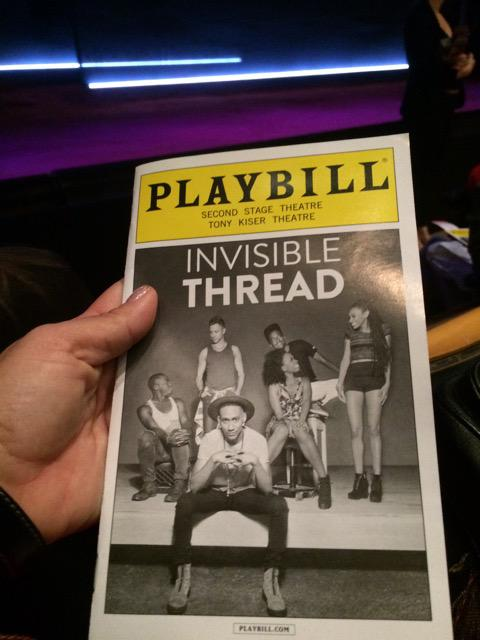 Invisible Thread Playbill