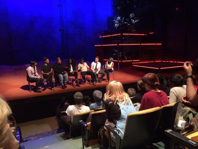 actors in a panel