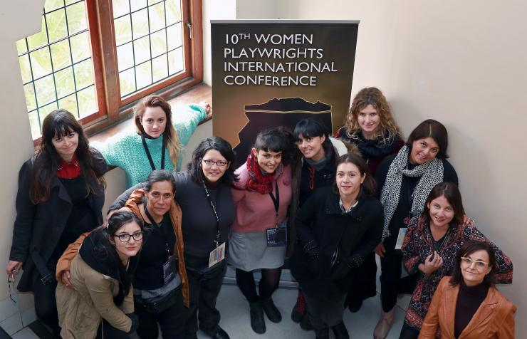 Chilean theatremakers at 10th Women Playwrights International Conference