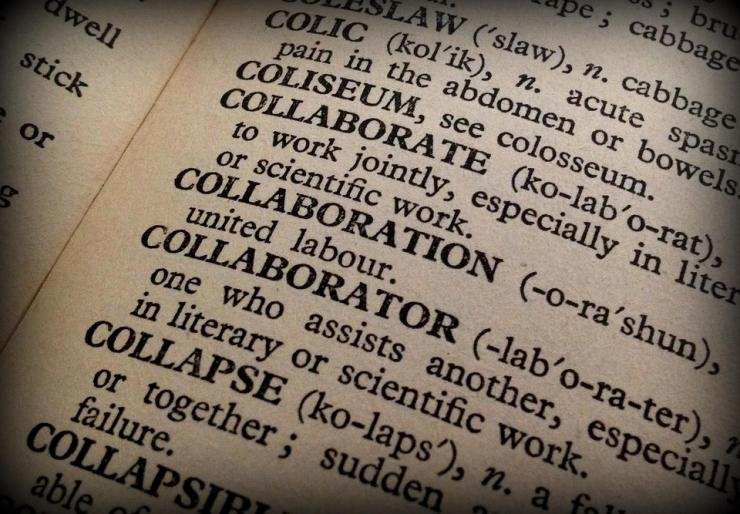 dictionary definition of collaborate