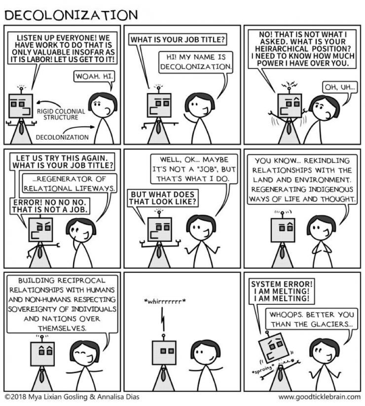 cartoon explaining decolonization