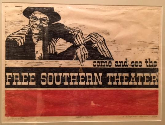 Free Southern Theatre poster