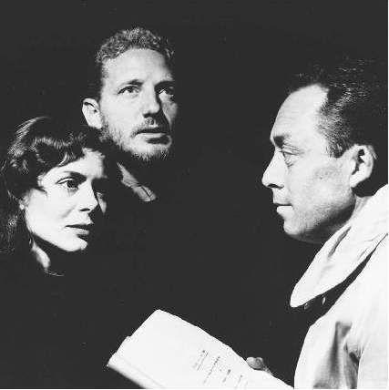 Marc Cassot, Catherine Sellers and Albert Camus