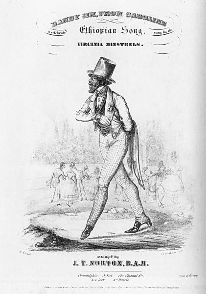 A man walking with a top hat