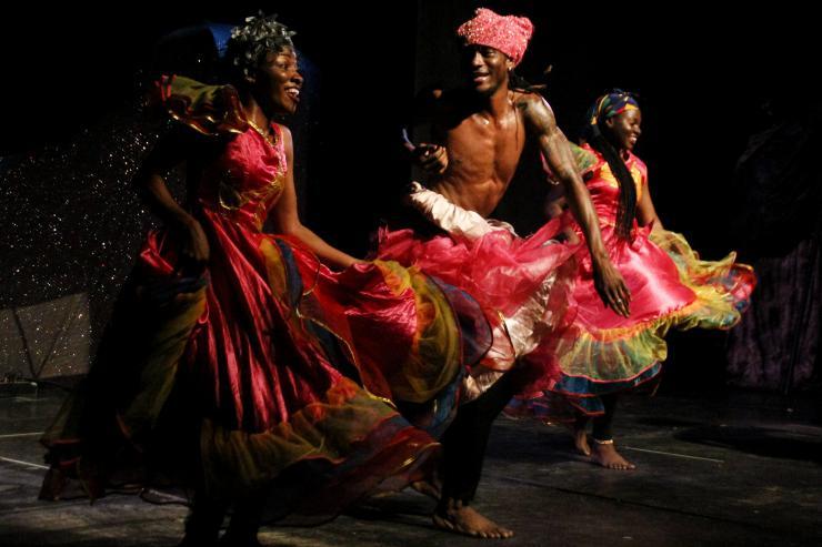 performers onstage
