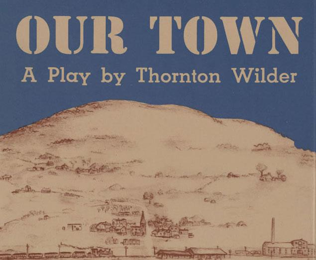 a town on a book cover