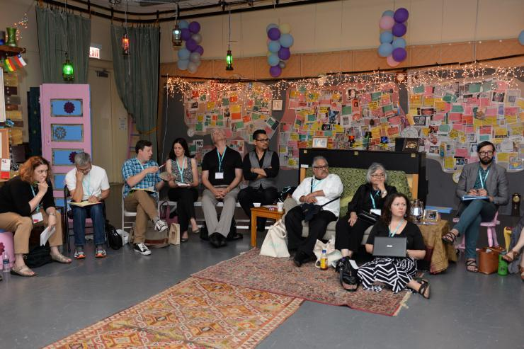 Breakout session at the 2015 LTC Carnaval of New Latina/o Work in Chicago, IL