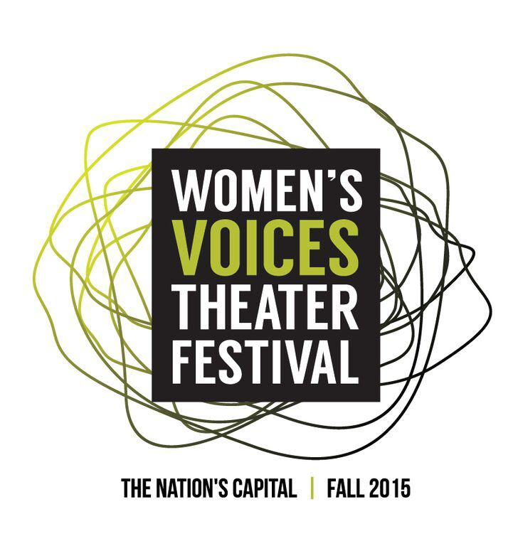 The poster for Women Voices Theater Festival