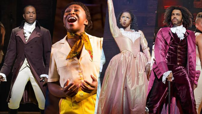 multiple broadway actors of color