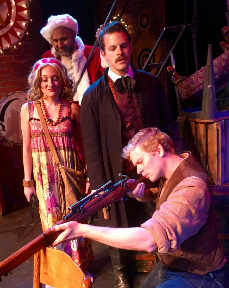 multiple actors on stage