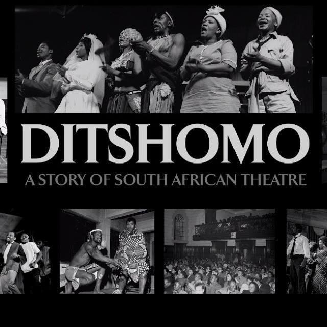 The cover of Ditshomo