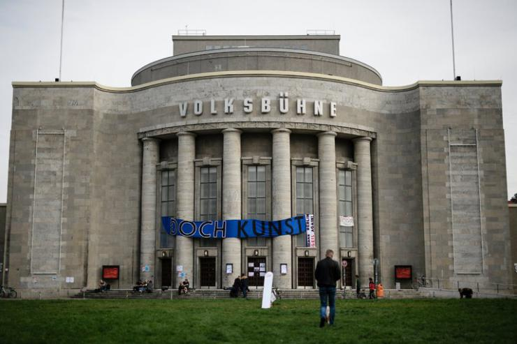 Volksbühne theatre in Berlin
