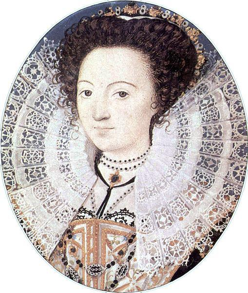 Painting of an Elizabethan noblewoman