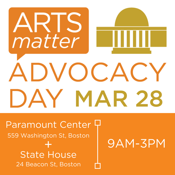 arts advocacy day poster