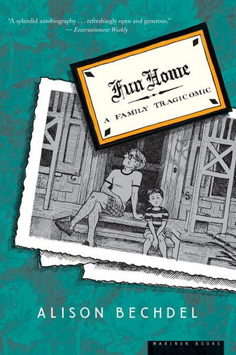 Cover of Alison Bechdel's Fun Home