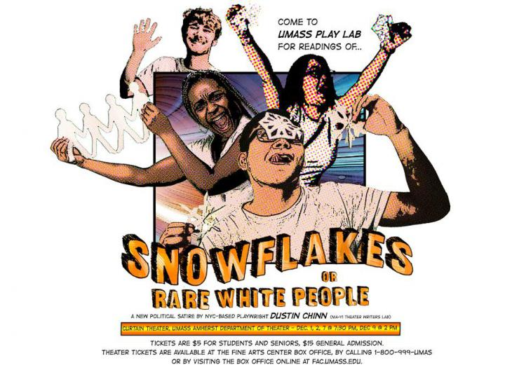 poster for Snowflakes, or Rare White People