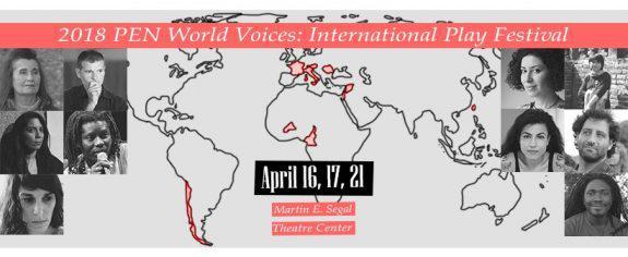 Pen World Voices event poster