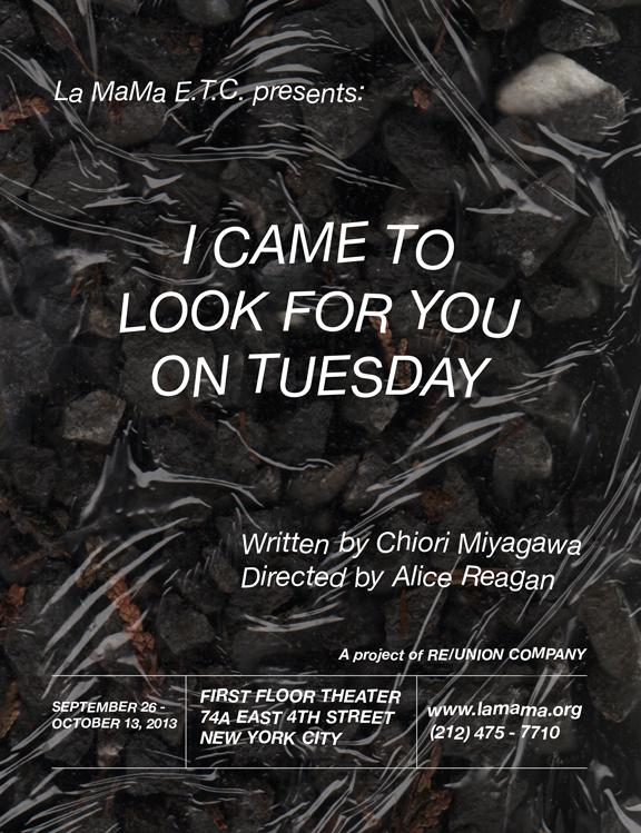 I Came to Look For You on Tuesday poster