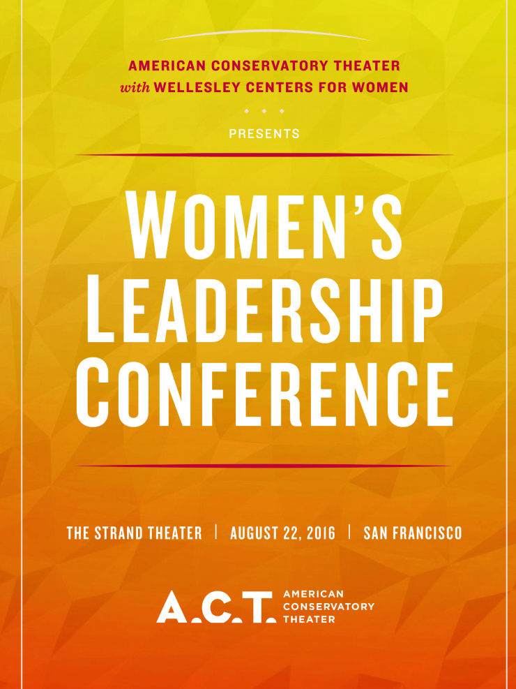 women's leadership conference poster