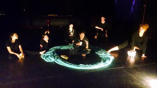 ensemble performing movement