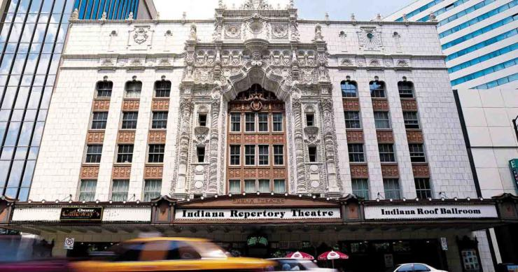 Facade of Indiana Repertory Theater