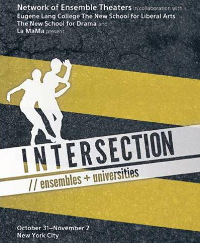 intersection: ensembles and universities poster