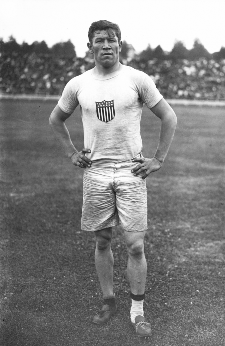 Jim Thorpe at the 1912 Summer Olympics