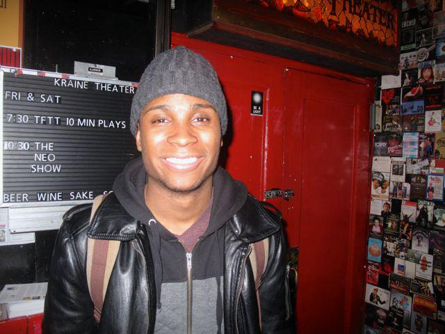 Jordan Cooper smiling