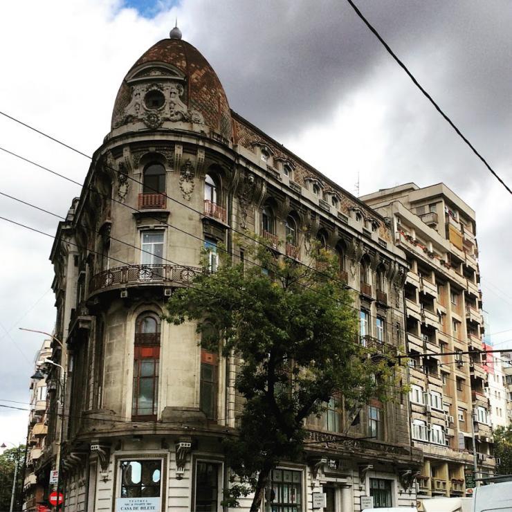 a building facade