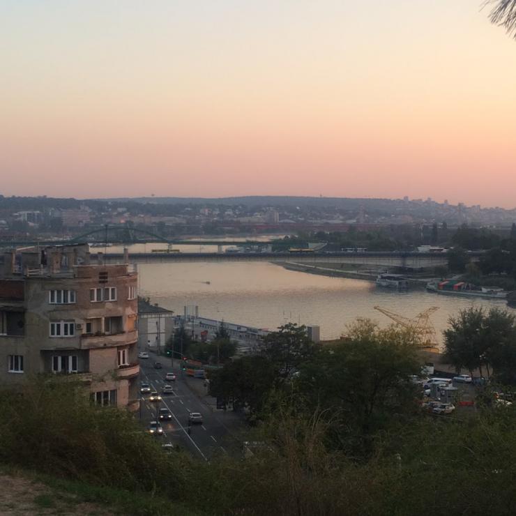 skyline of Belgrade