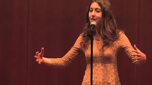 Women performing poetry