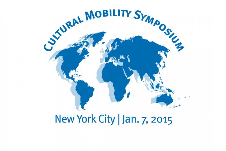 blue cultural mobility symposium logo