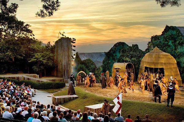 outdoor performance of The Lost Colony