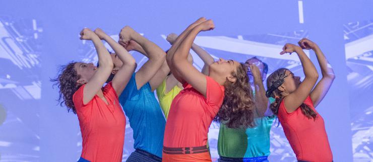 dancers performing in costume