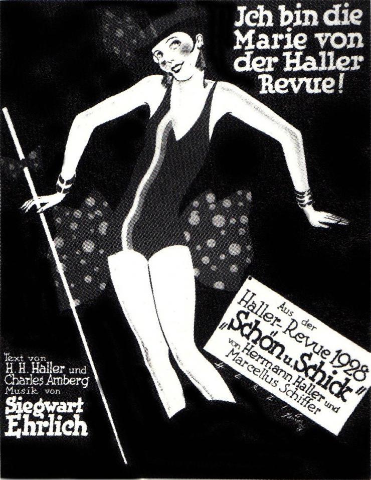 poster of dancing woman
