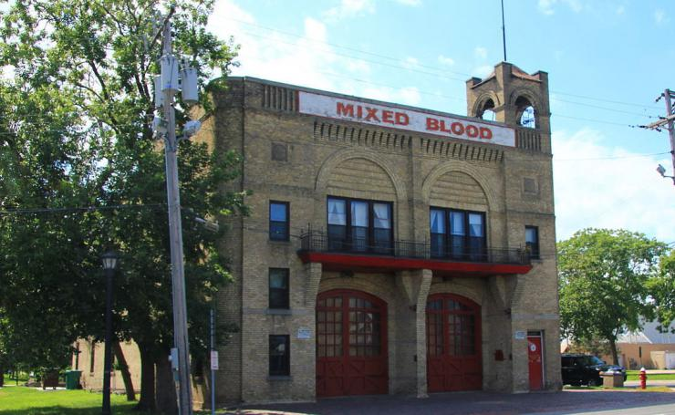 Facade of Mixed Blood Theatre building