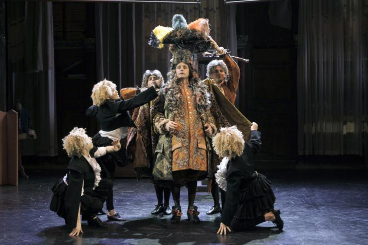 actor performing Moliere