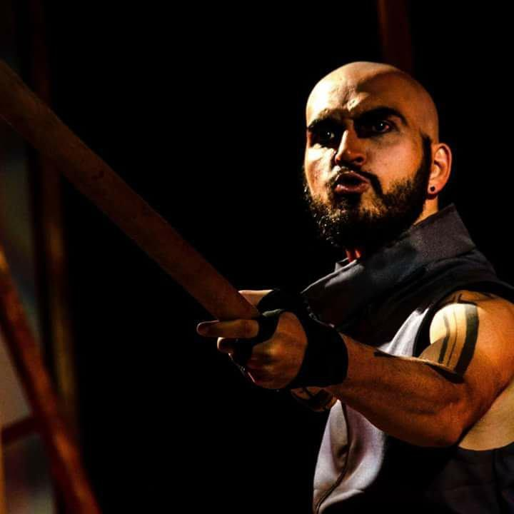 Pedro Felício as General Coriolanus