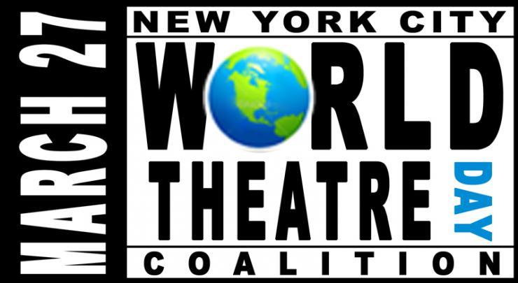 NYC World Theatre Day Coalition logo