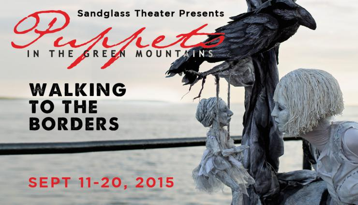 puppets in the green mountains poster