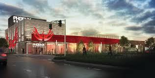 Facade of Phoenix Theater