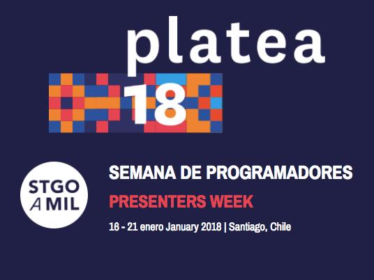 platea 18 presenter's week logo