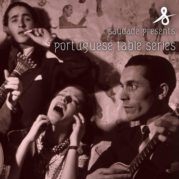 saudade theatre event poster
